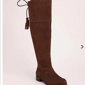 Torrid Wide width wide calf brown knee high boots
